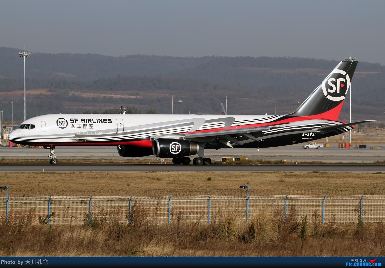 Re:[原创]【KMG】2017年第一拍,长水早晨的阳光不错 BOEING 757-200 B-2821 中国昆明长水国际机场