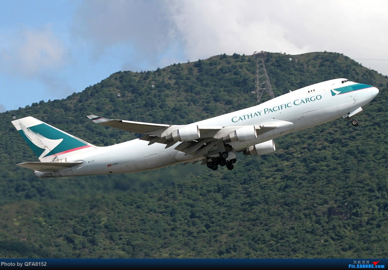 [原创]冒泡 BOEING 747-400 B-LIF 中国香港国际机场