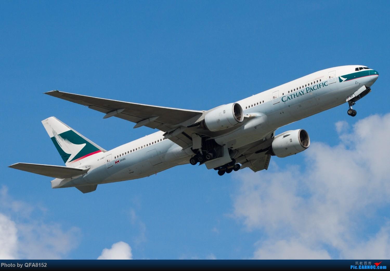 Re:[原创]冒泡 BOEING 777-200 B-HND 中国香港国际机场