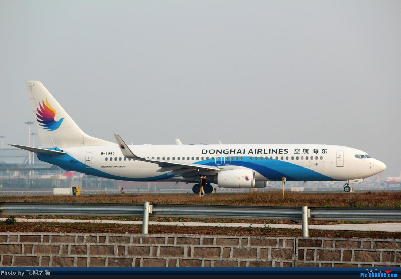 Re:[原创]2017CKG春运合集之一(微笑,星星,火热齐聚山城) BOEING 737-800 B-6980 重庆江北国际机场