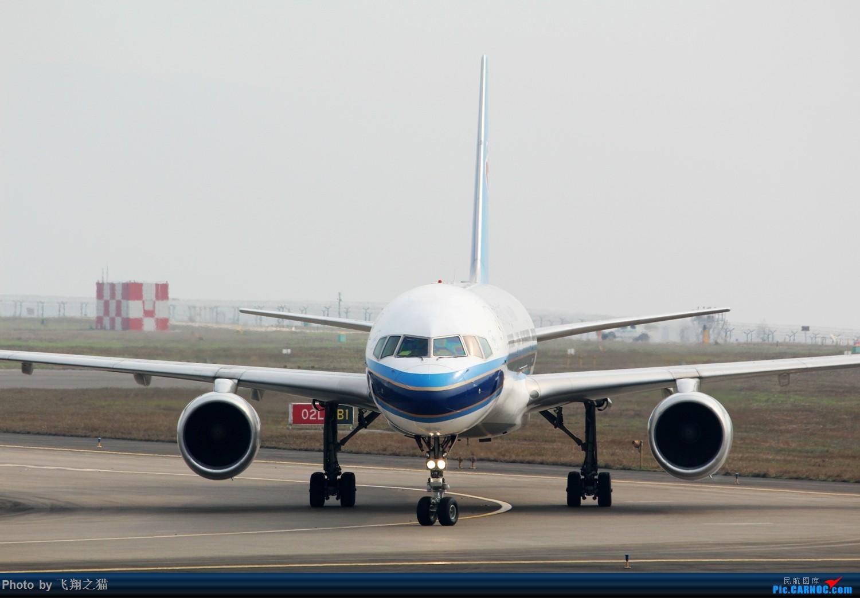 Re:[原创]2017CKG春运合集之一(微笑,星星,火热齐聚山城) BOEING 757-200  重庆江北国际机场