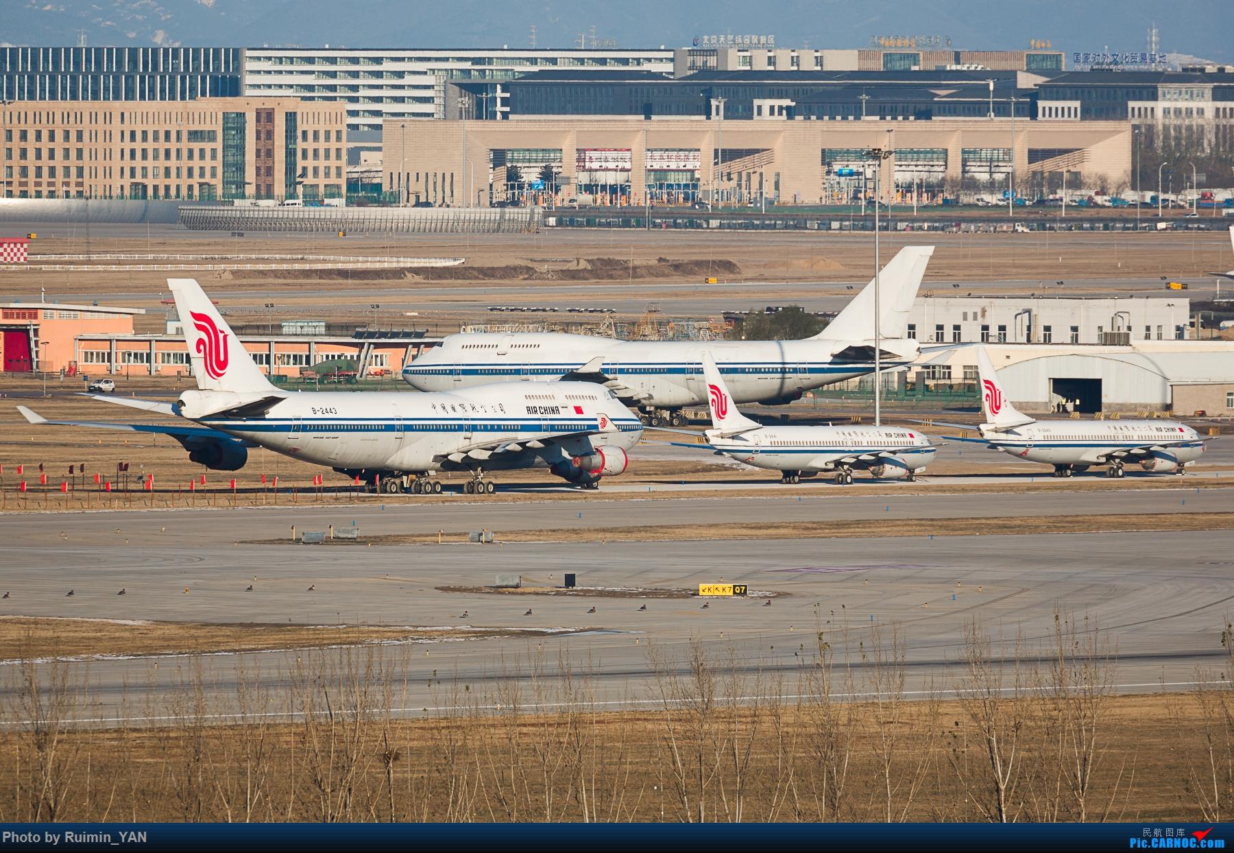 [原创]【PEK】【退役】国航Boeing 747-400 B-2443 BOEING 747-400 B-2443 中国北京首都国际机场