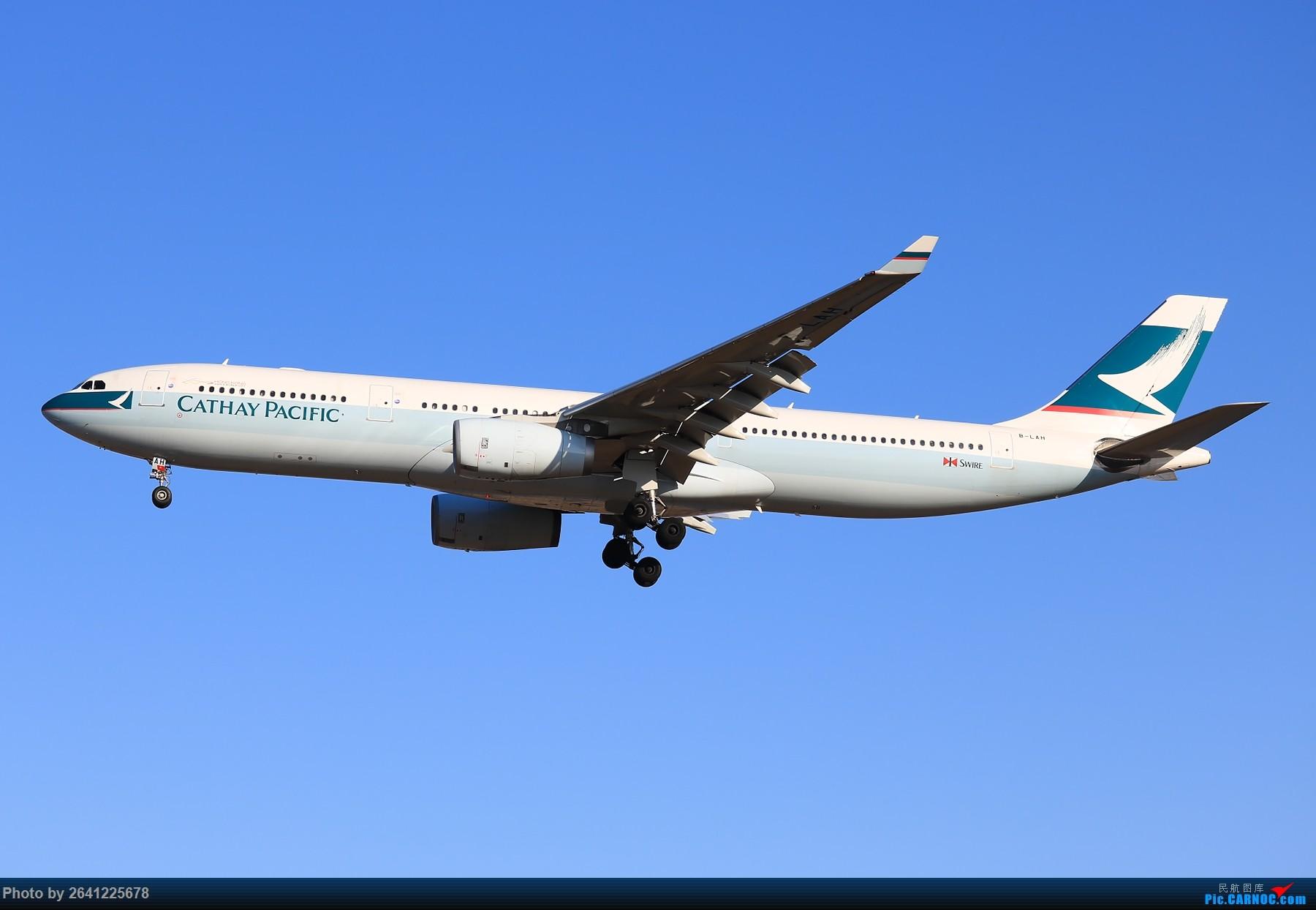 [原创]【PEK】六七级北风吹走了雾霾,吹不走拍机的热情!1800*1200/1920*1280一组 更新完毕 AIRBUS A330-300 B-LAH 中国北京首都国际机场