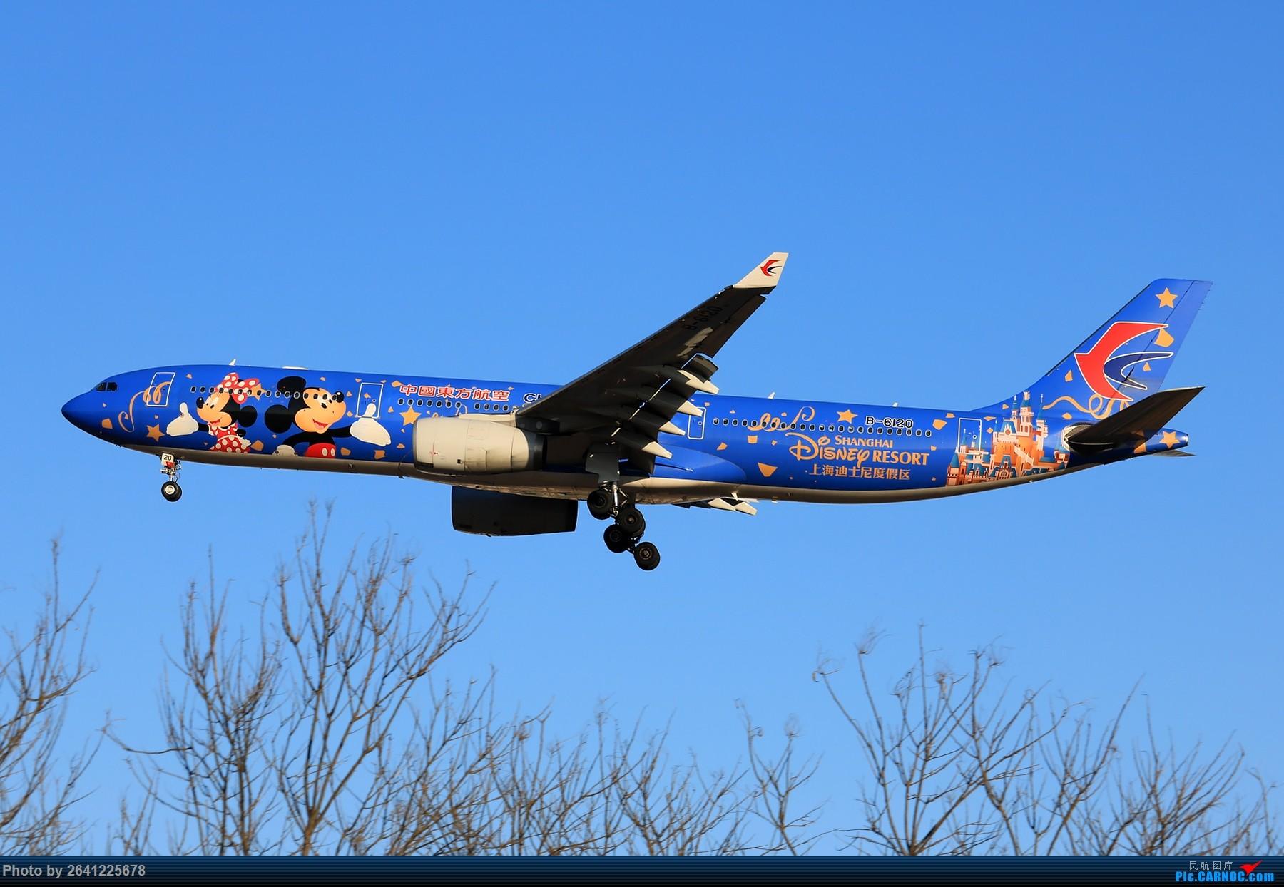 Re:[原创]【PEK】六七级北风吹走了雾霾,吹不走拍机的热情!1800*1200/1920*1280一组 图片略多,慢慢发 AIRBUS A330-300 B-6120 中国北京首都国际机场
