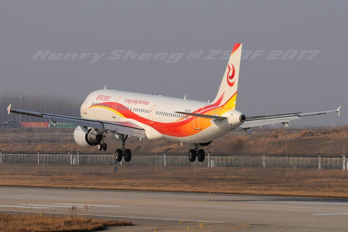 Re:[原创]2017年第一拍,久违的新桥机场跑道33头 AIRBUS A321-200 B-8578 中国合肥新桥国际机场