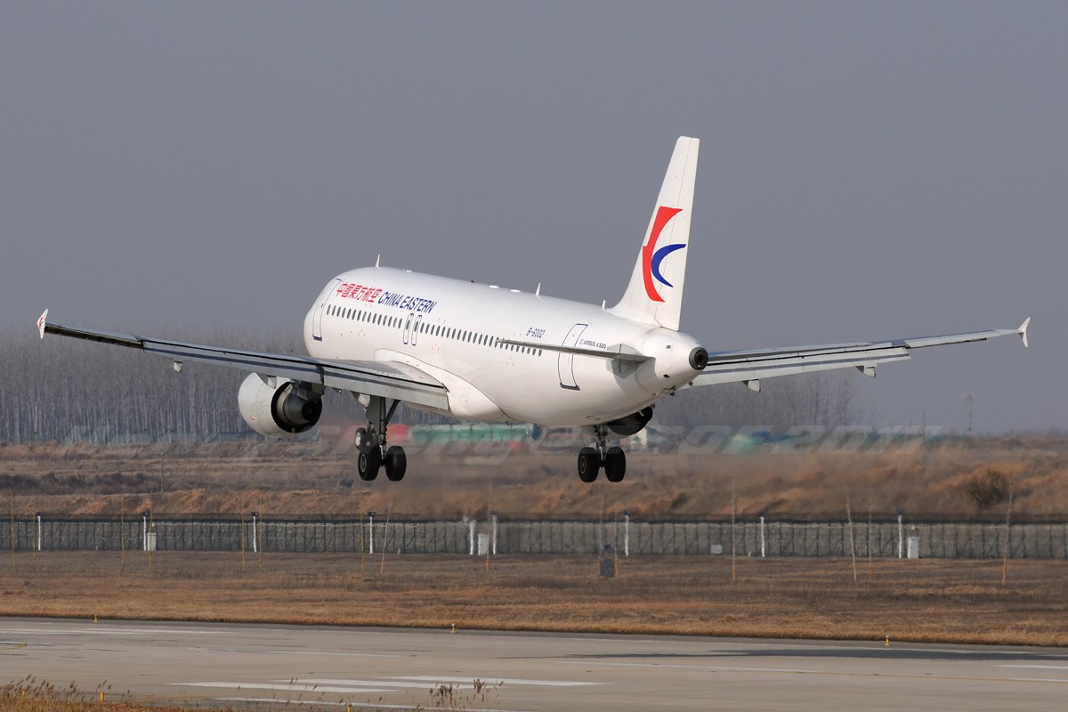 Re:[原创]2017年第一拍,久违的新桥机场跑道33头 AIRBUS A320-200 B-6002 中国合肥新桥国际机场