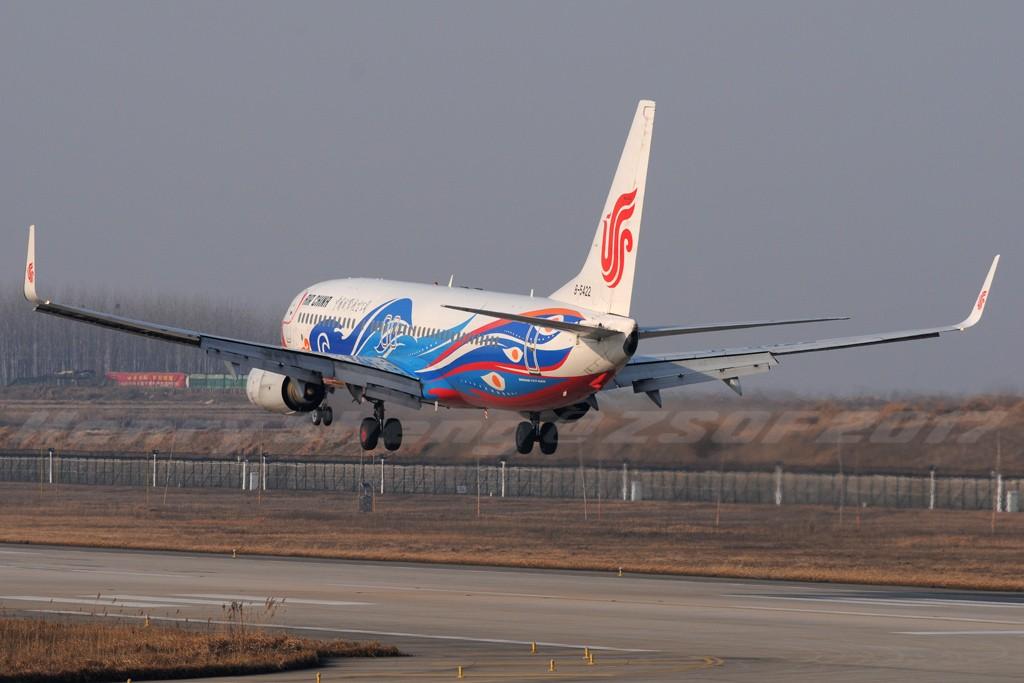 Re:[原创]2017年第一拍,久违的新桥机场跑道33头 BOEING 737-800 B-5422 中国合肥新桥国际机场
