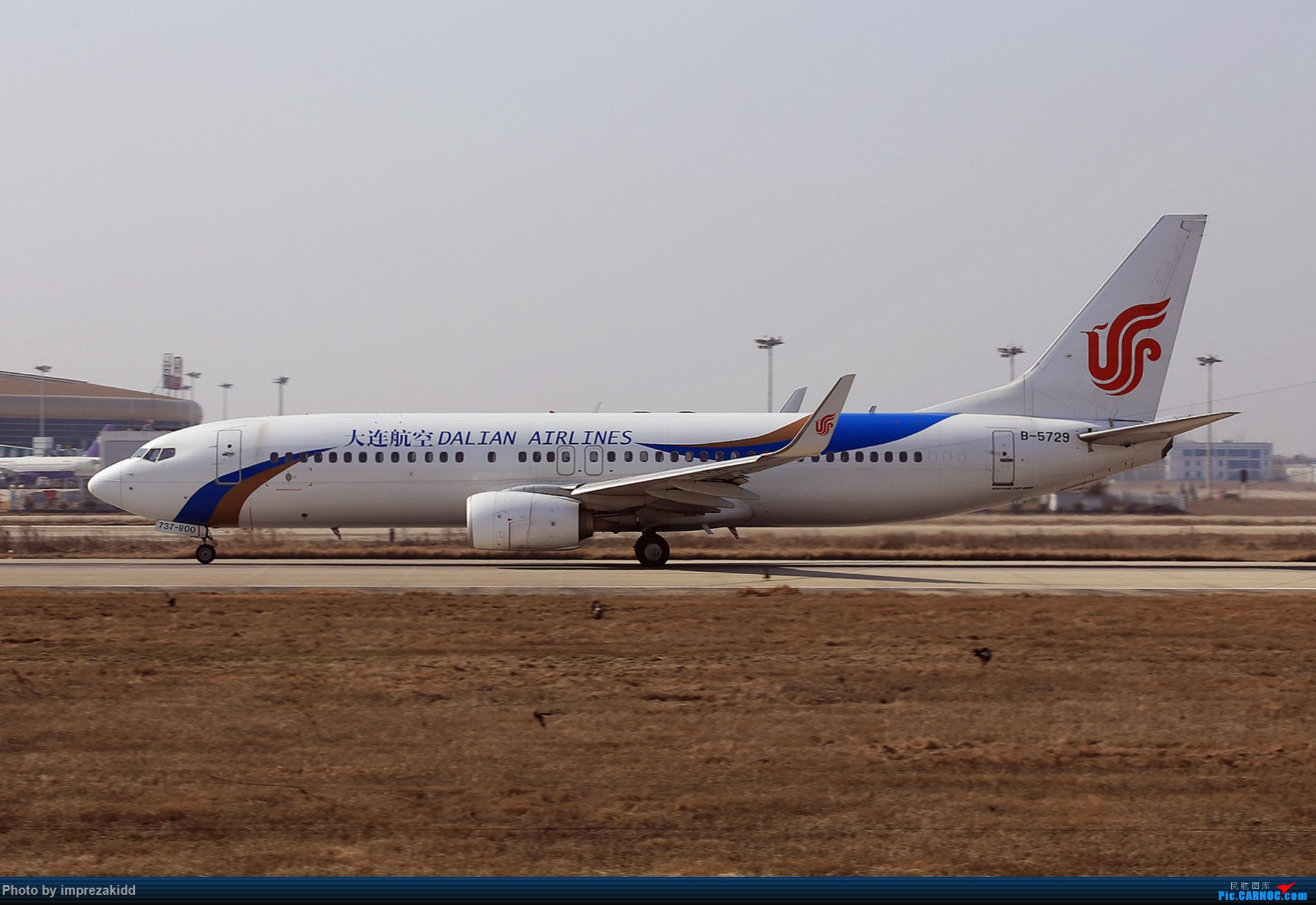 Re:[原创]【合肥飞友会·霸都打机队】又是一年拍机时《上半场》 BOEING 737-800 B-5729 中国合肥新桥国际机场