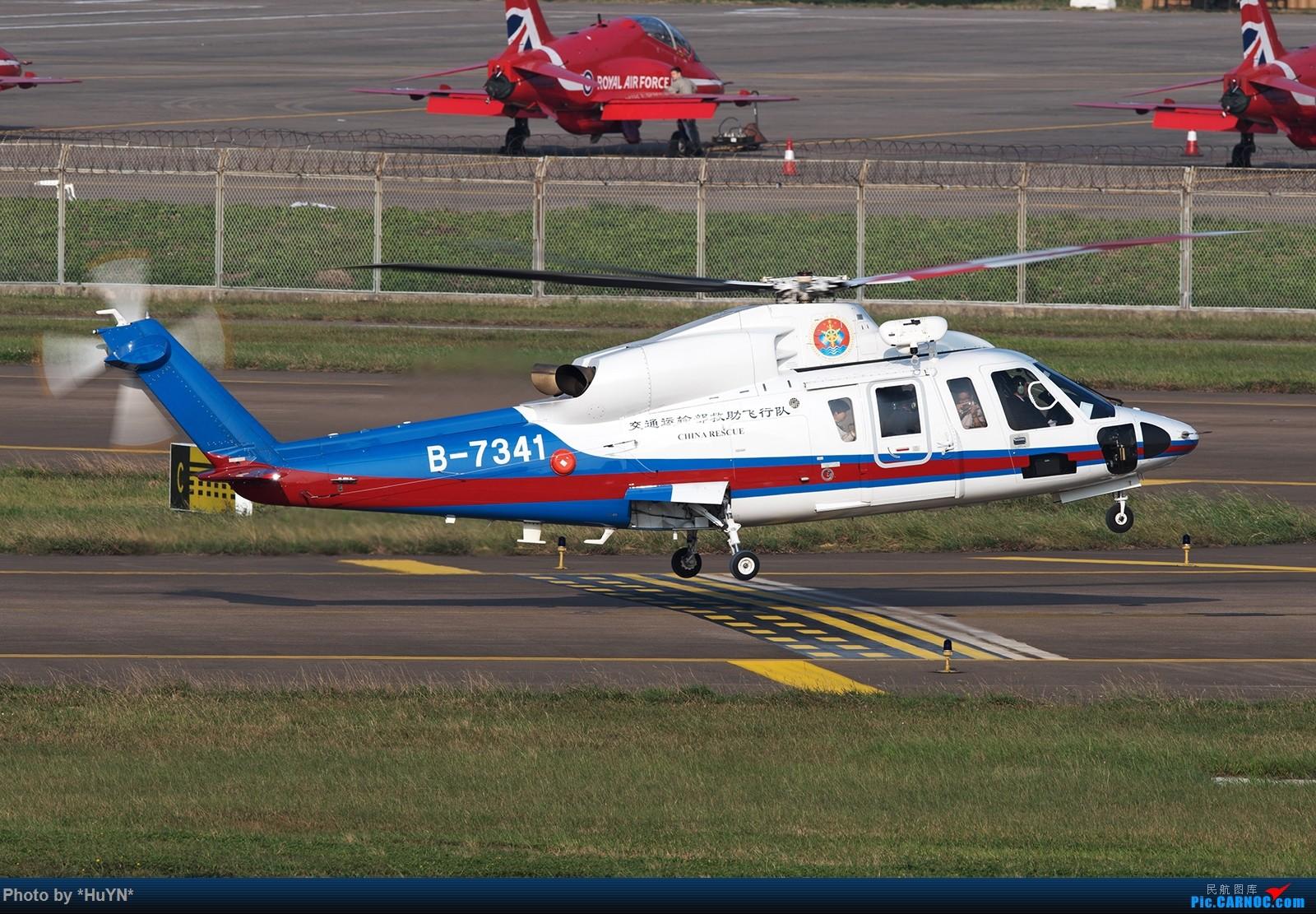 [原创]直升机一枚 SIKORSKY S76D B-7341 中国珠海金湾机场