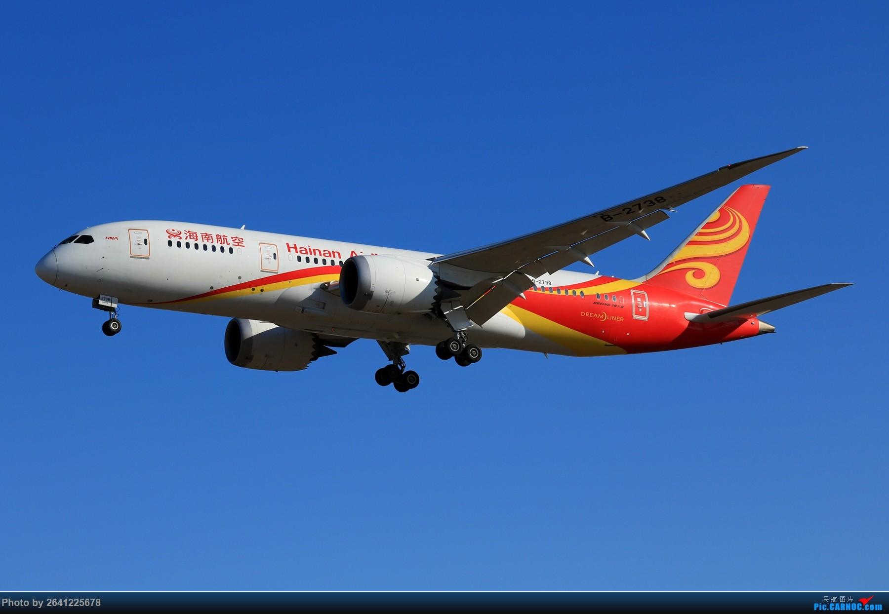 Re:[原创]【PEK】六七级北风吹走了雾霾,吹不走拍机的热情!1800*1200/1920*1280一组 图片略多,慢慢发 BOEING 787-8 B-2738 中国北京首都国际机场