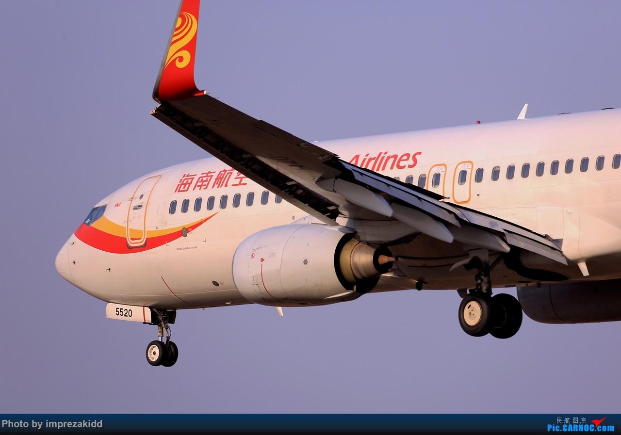 Re:[原创]【合肥飞友会·霸都打机队】又是一年拍机时《下半场》 BOEING 737-800 B-5520 中国合肥新桥国际机场