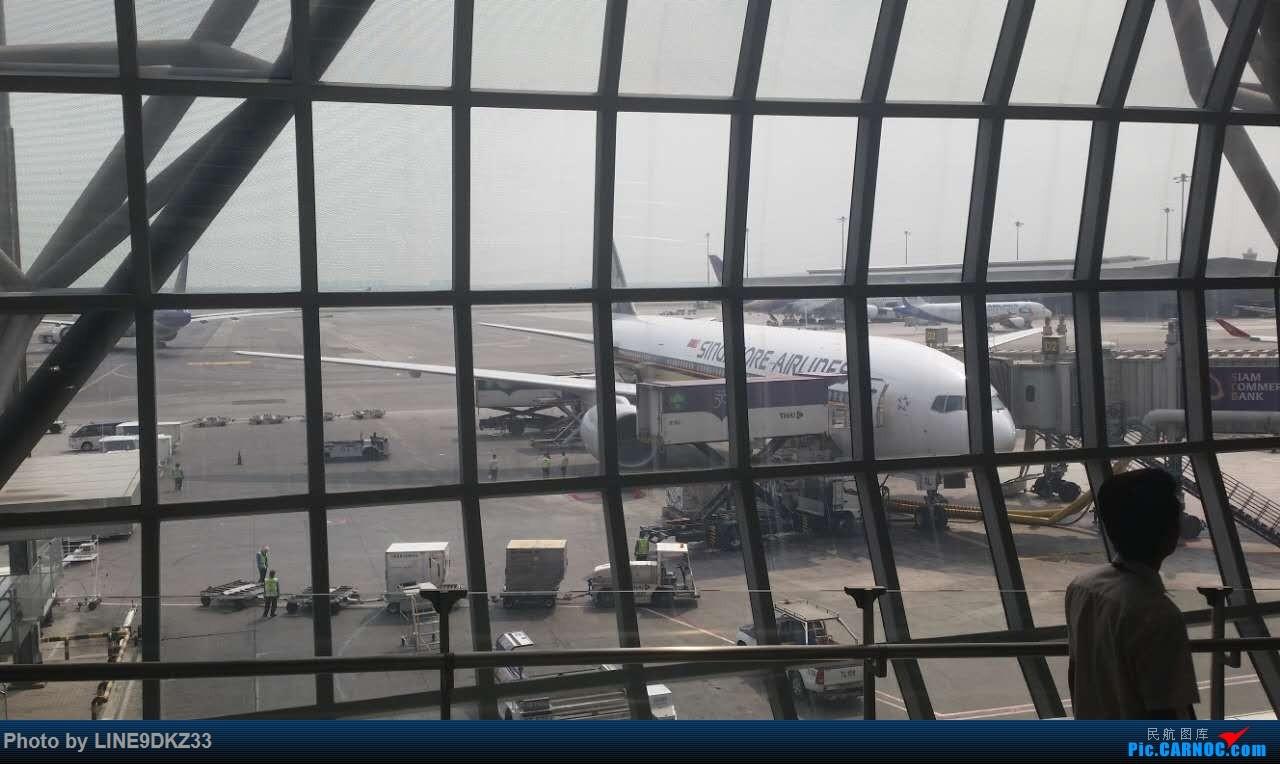 [原创]东南亚运转(下) BOEING 777-200 9VSRL 泰国曼谷素万那普国际机场