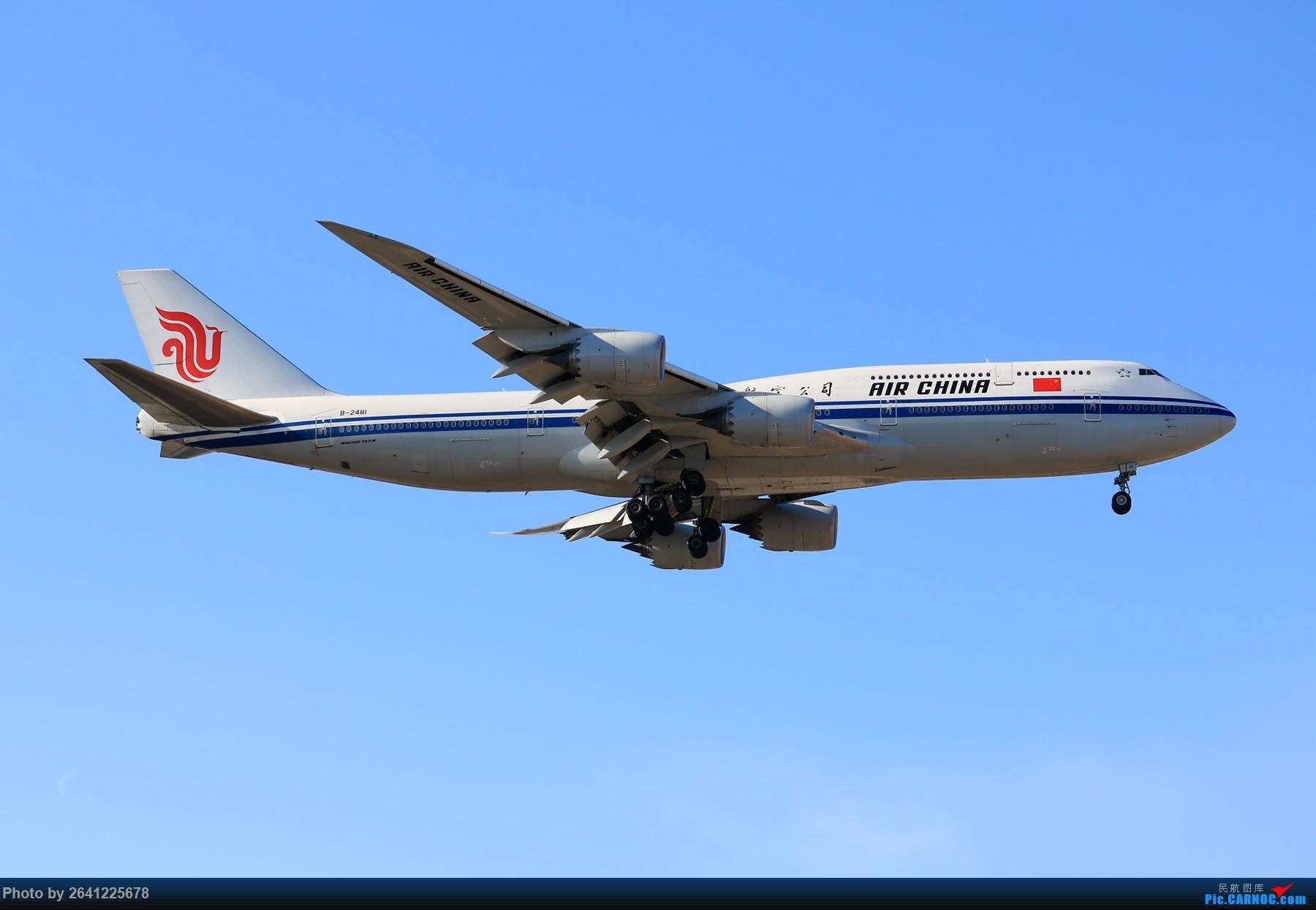 Re:[原创]【PEK】六七级北风吹走了雾霾,吹不走拍机的热情!1800*1200/1920*1280一组 图片略多,慢慢发 BOEING 747-8I B-2481 中国北京首都国际机场