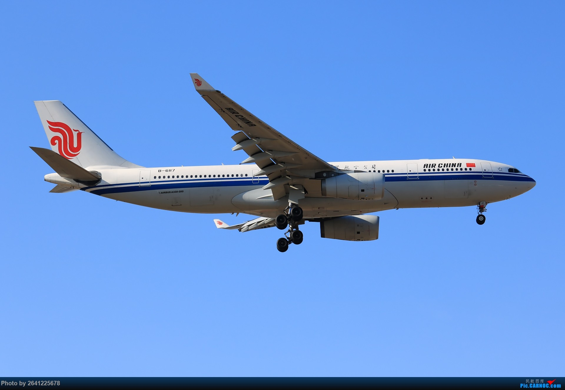 Re:[原创]【PEK】六七级北风吹走了雾霾,吹不走拍机的热情!1800*1200/1920*1280一组 图片略多,慢慢发 AIRBUS A330-200 B-6117 中国北京首都国际机场