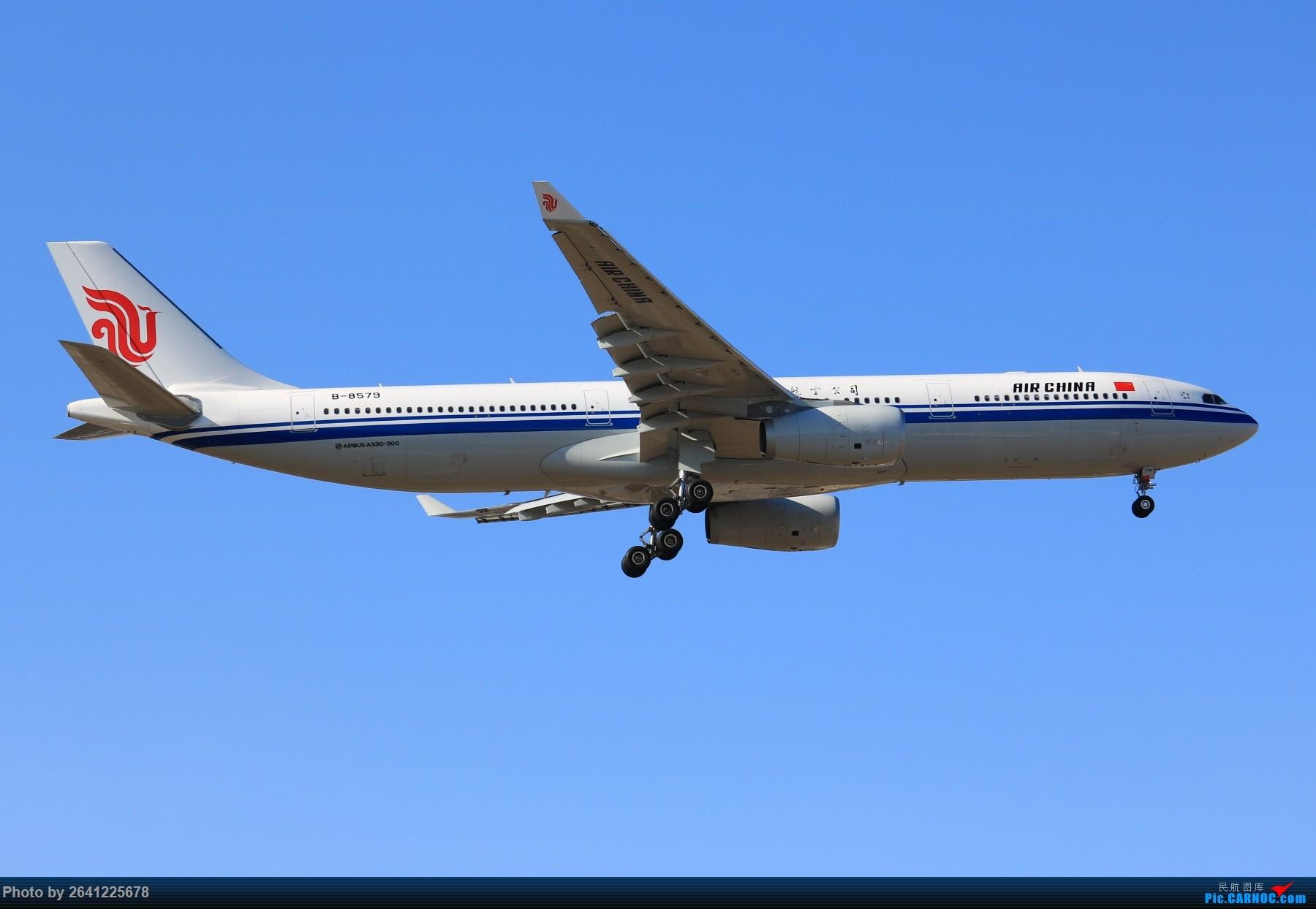 [原创][PEK]【一图党】论坛第二发 国航新333 B-8579 AIRBUS A330-300 B-8579 中国北京首都国际机场