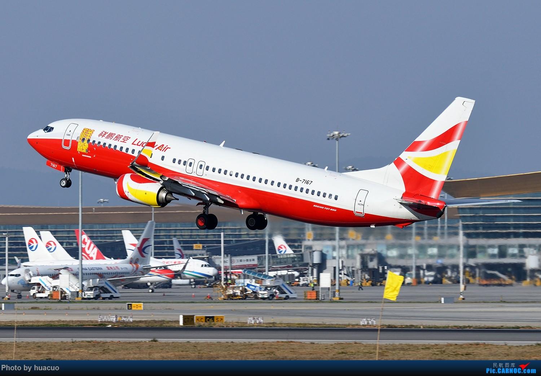 Re:[原创]大年初一,祝大家春节快乐,万事如意! BOEING 737-800 B-7167 中国昆明长水国际机场