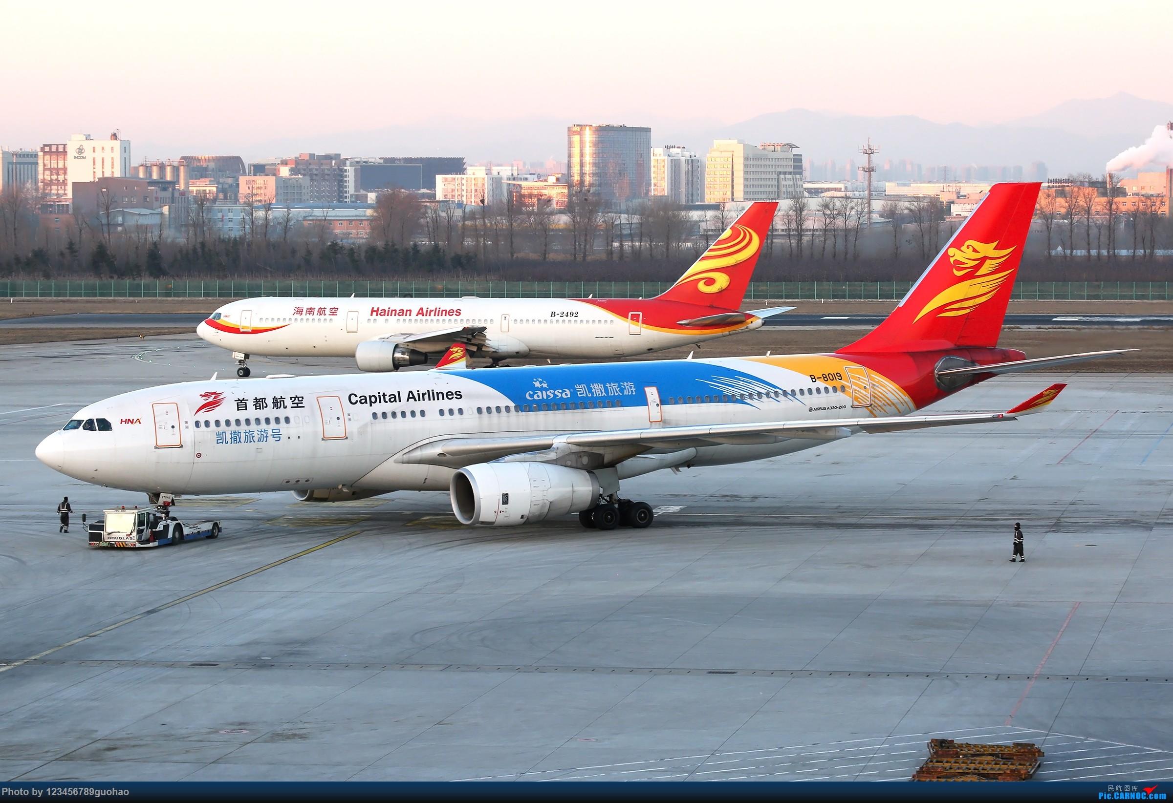 Re:[原创]鸡年第一发 AIRBUS A330-200 B-8019 北京首都国际机场