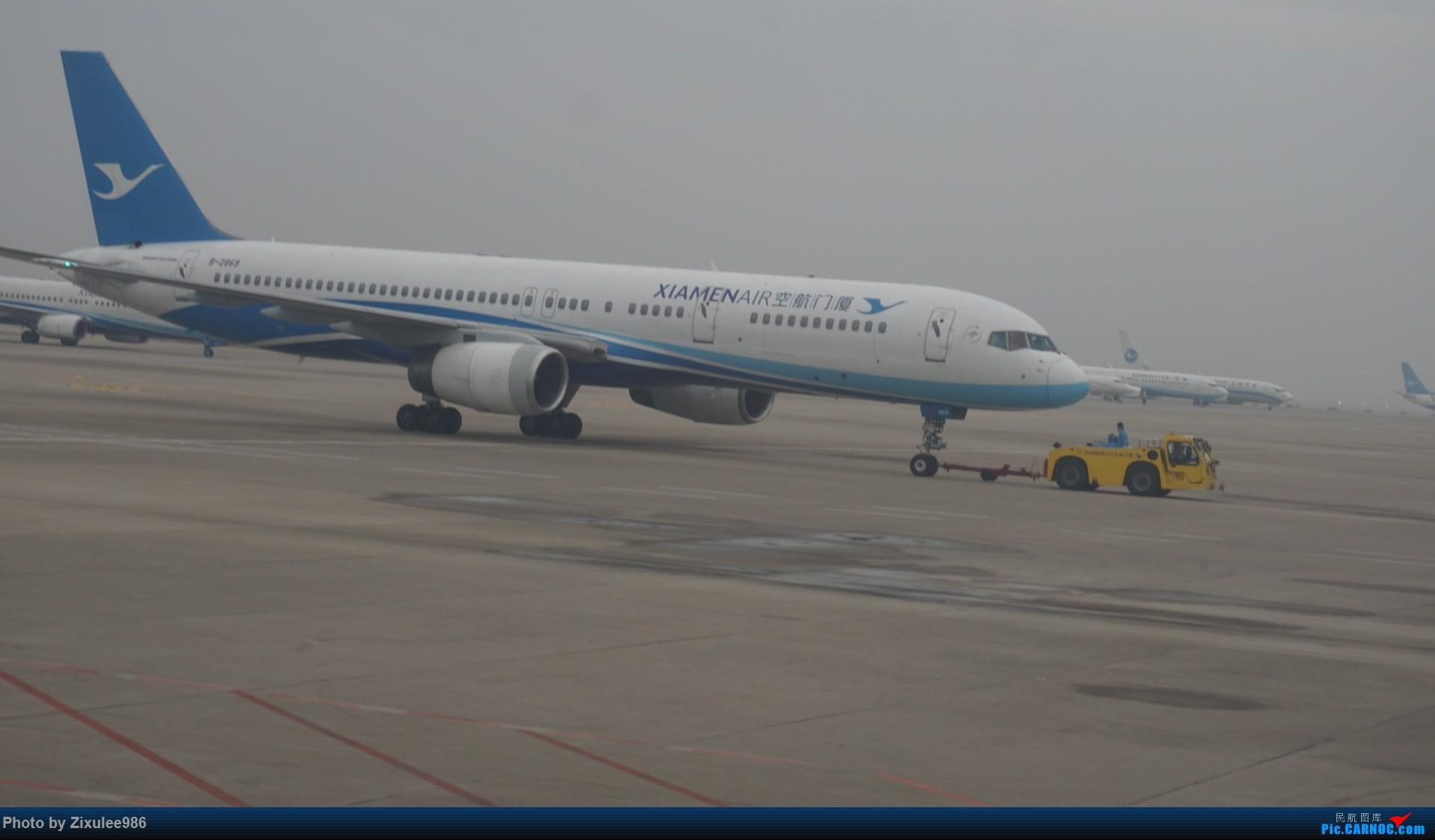 Re:[原创]新年第一次出行~…XMN-NGB-CGO 沿途拍机..多图 BOEING 757-25C B-2869 中国厦门高崎国际机场
