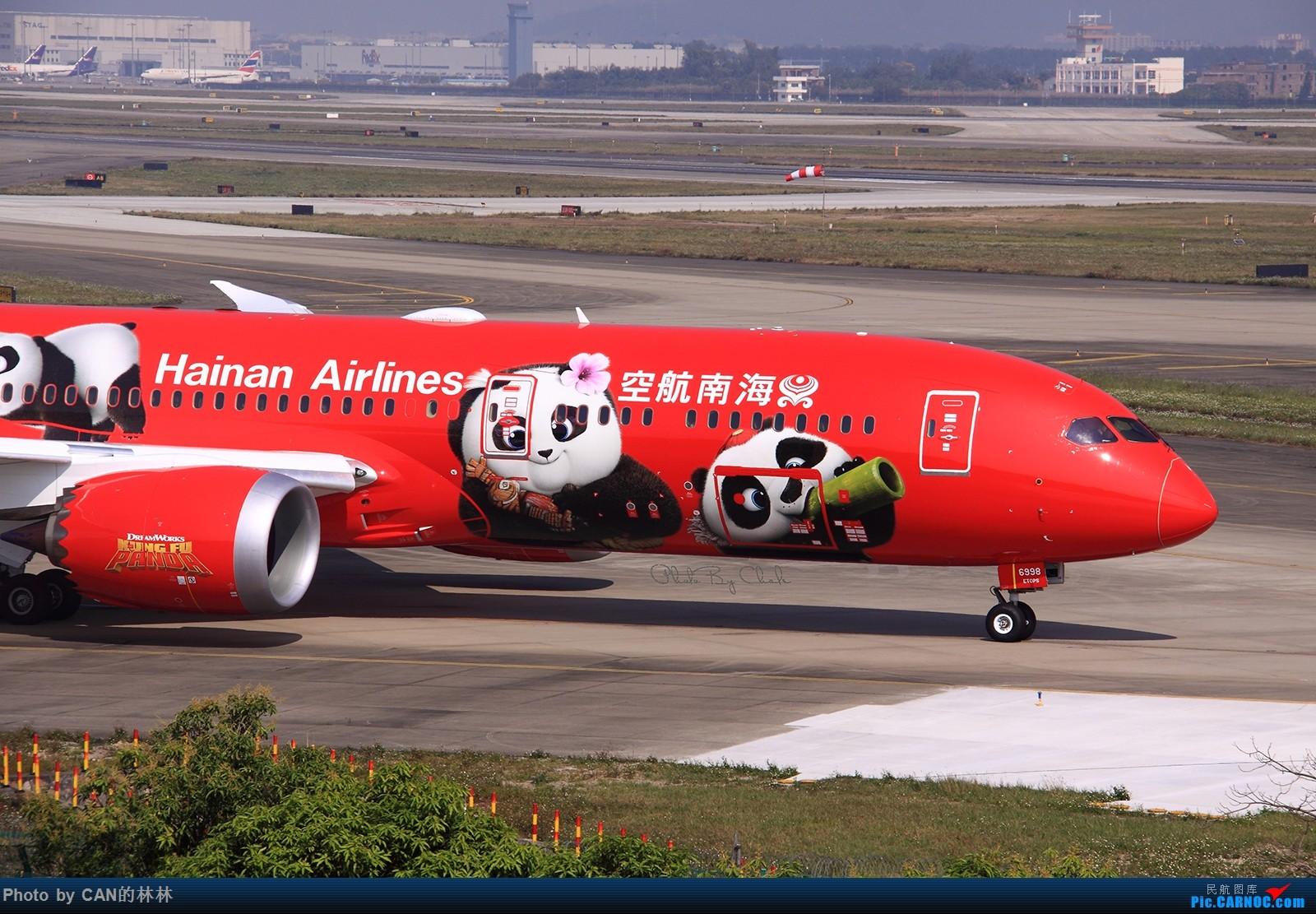[原创]~~~熊猫迎新年~~~ BOEING 787-9 B-6998 中国广州白云国际机场