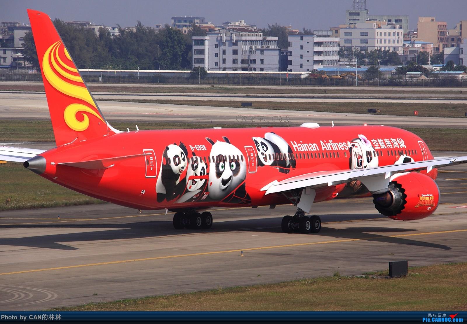 Re:[原创]~~~熊猫迎新年~~~ BOEING 787-9 B-6998 中国广州白云国际机场