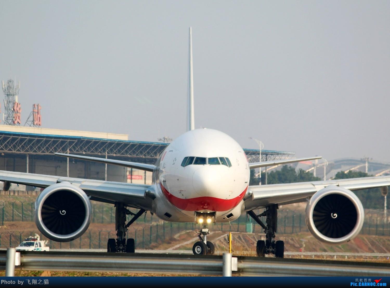 Re:[原创]2017CKG春运合集之三(抓住春运的机会多拍,多练!) BOEING 777-300ER  重庆江北国际机场
