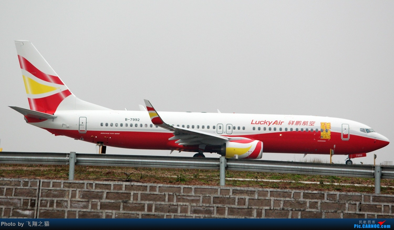 Re:[原创]2017CKG春运合集之三(抓住春运的机会多拍,多练!) BOEING 737-800 B-7992 重庆江北国际机场