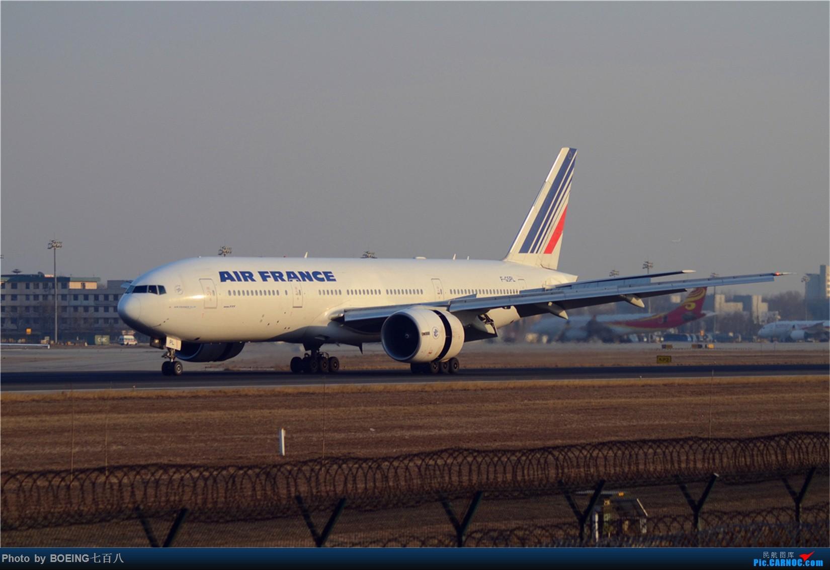 Re:[原创]大年初四收获一堆天合联盟 BOEING 777-200ER F-GSPL 中国北京首都国际机场
