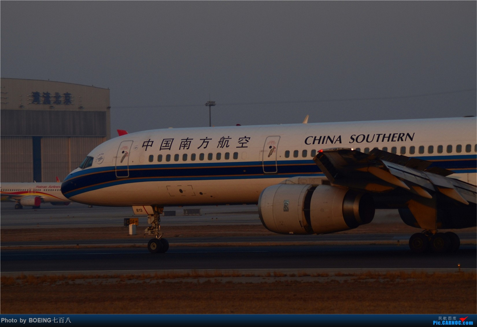 Re:[原创]大年初四收获一堆天合联盟 BOEING 757-200 B-2813 中国北京首都国际机场