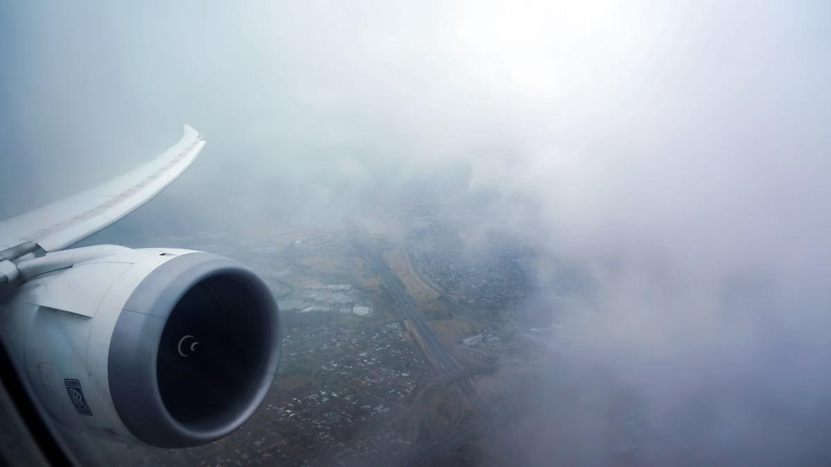 Re: [原创]【 环球十万公里 | 除了横跨太平洋 | 后会有期 | 下集 】 BOEING 787-8 V8-DLA 空中