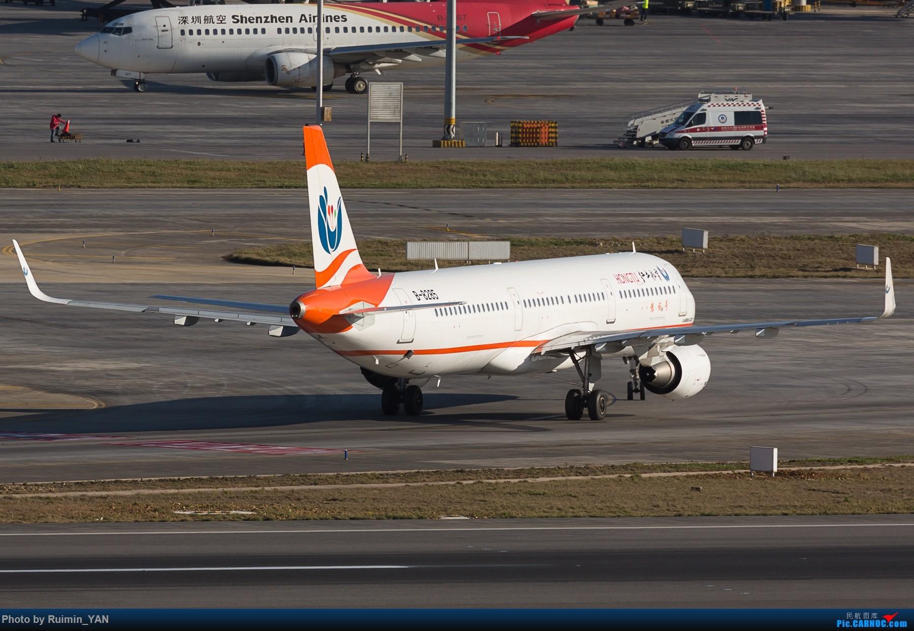 [原创]【KMG】红土航空(A6) 傣族号B-8285 傈僳族号B-8318 A321 AIRBUS A321-200 B-8285 中国昆明长水国际机场