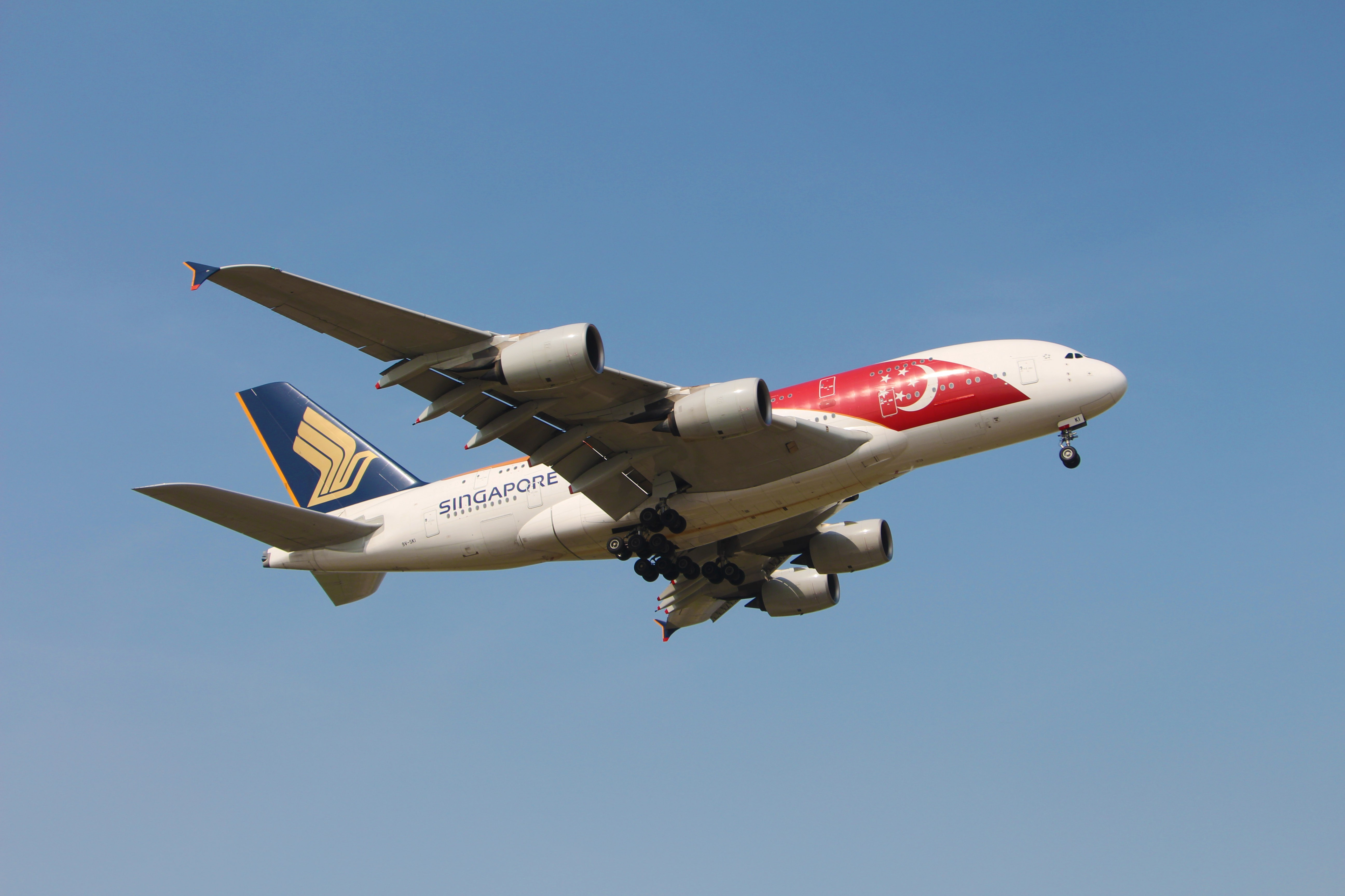 Re:[原创]浦东拍机大作战 AIRBUS A380-800 9V-SKI 中国上海浦东国际机场