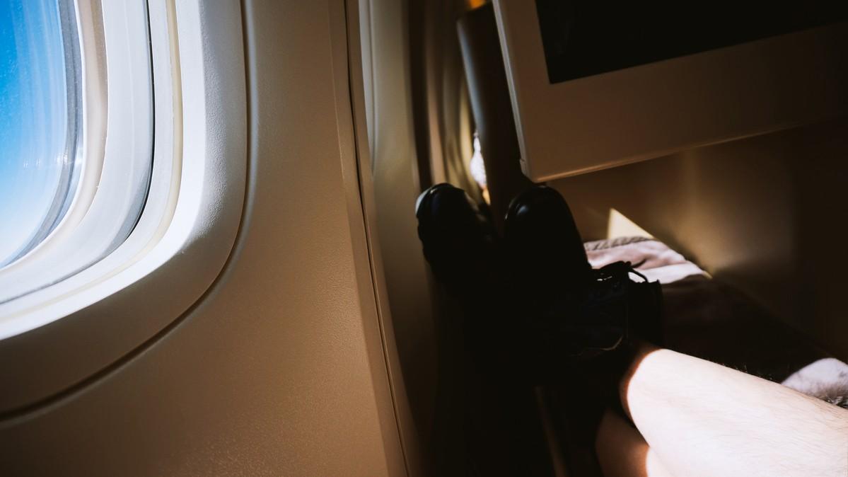 Re: [原创]【 环球十万公里 | 除了横跨太平洋 | 后会有期 | 下集 】 BOEING 777-300ER A6-ETG 空中