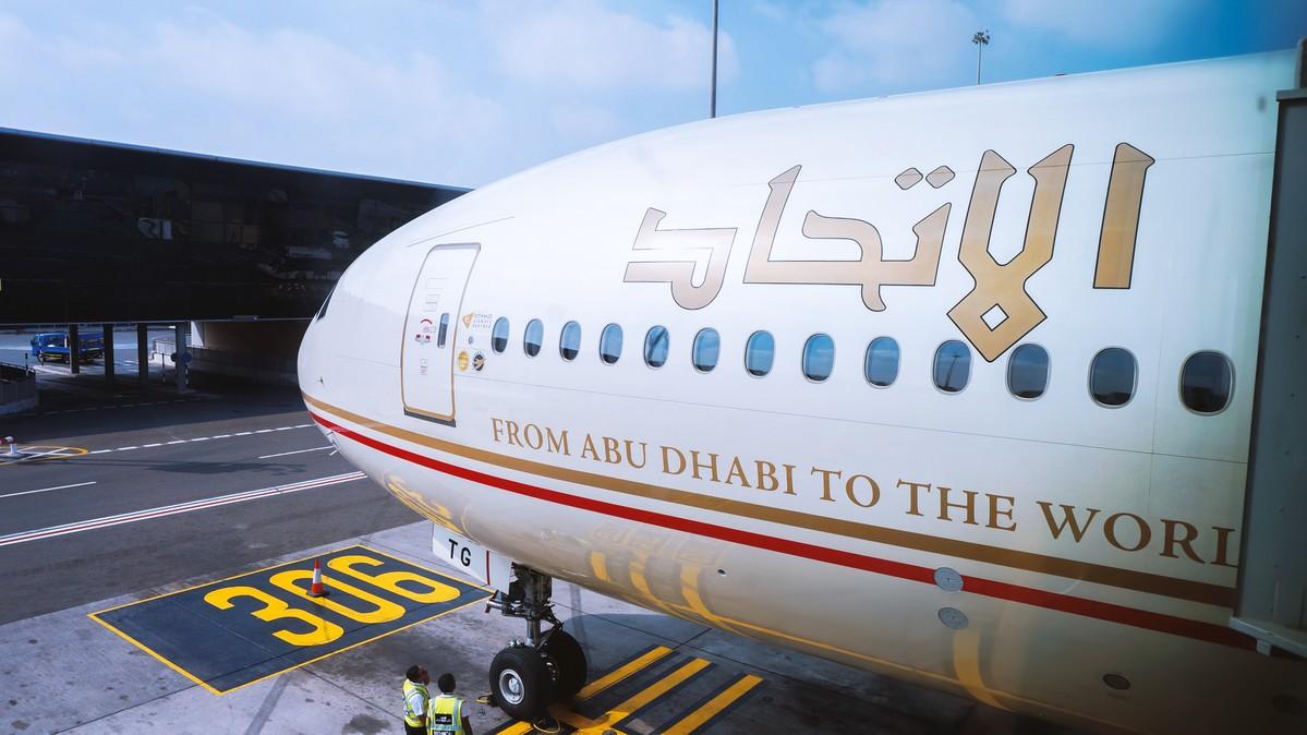 Re: [原创]【 环球十万公里 | 除了横跨太平洋 | 后会有期 | 下集 】 BOEING 777-300ER A6-ETG 阿拉伯联合酋长国阿布扎比国际机场