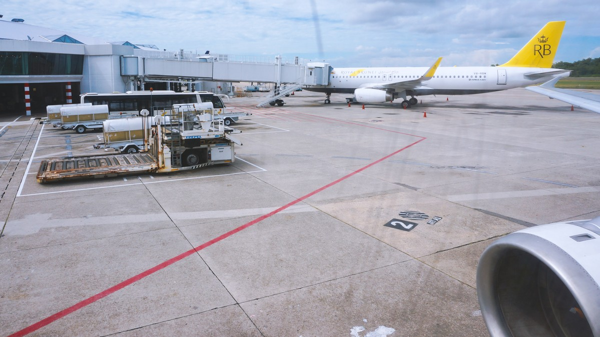 Re: [原创]【 环球十万公里 | 除了横跨太平洋 | 后会有期 | 下集 】 AIRBUS A320-200 V8-RBW 文莱斯里巴加湾文莱国际机场