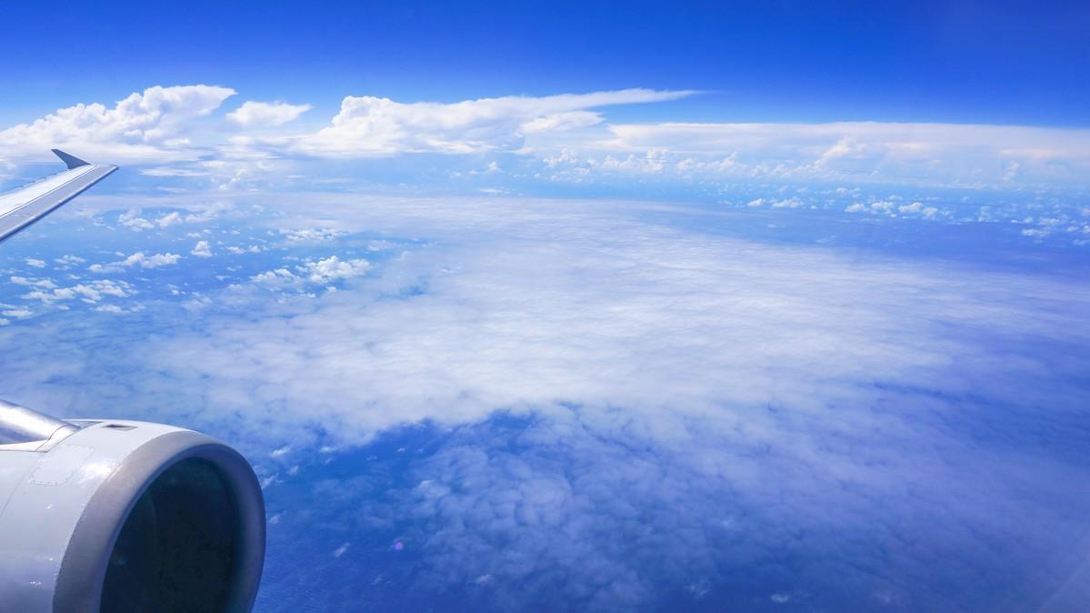 Re: [原创]【 环球十万公里 | 除了横跨太平洋 | 后会有期 | 下集 】 AIRBUS A320-200 V8-RBS 空中