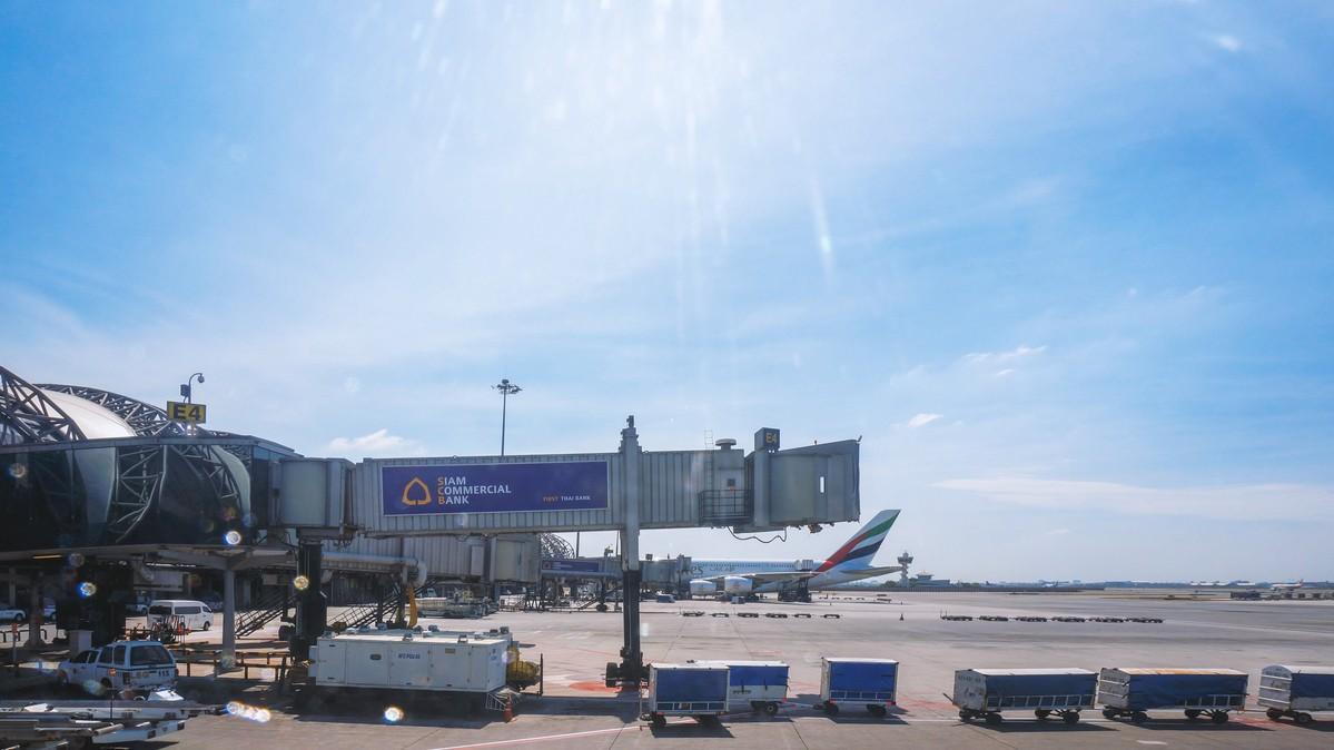 Re: [原创]【 环球十万公里 | 除了横跨太平洋 | 后会有期 | 下集 】 AIRBUS A320-200 V8-RBS 空中 泰国曼谷素万那普国际机场