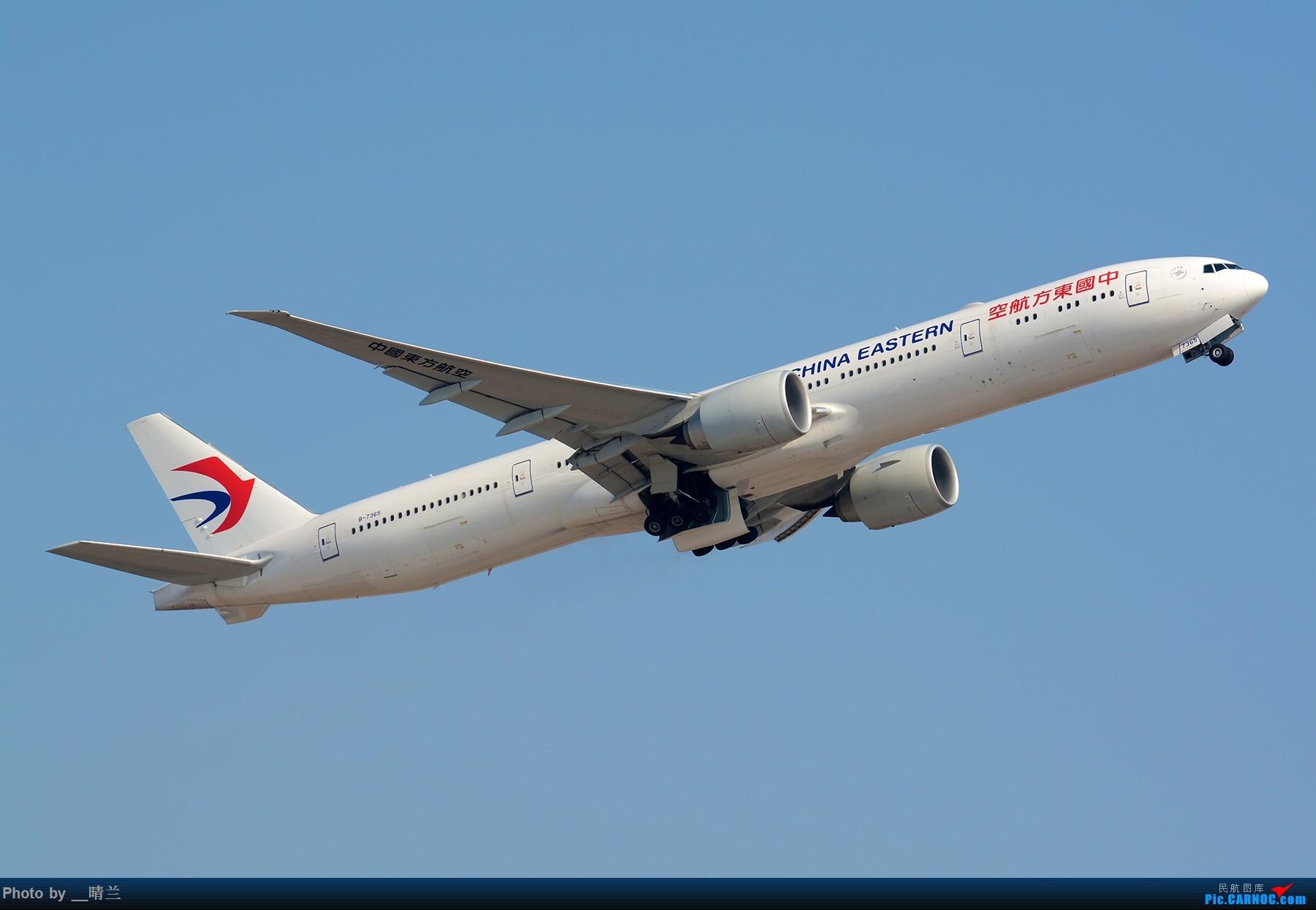 Re:[原创]【PVG】大年初二 新角度解锁 集齐7只77W 召唤748一枚!#祝各位飞友新的一年一飞冲天!# BOEING 777-300ER B-7365 中国上海浦东国际机场