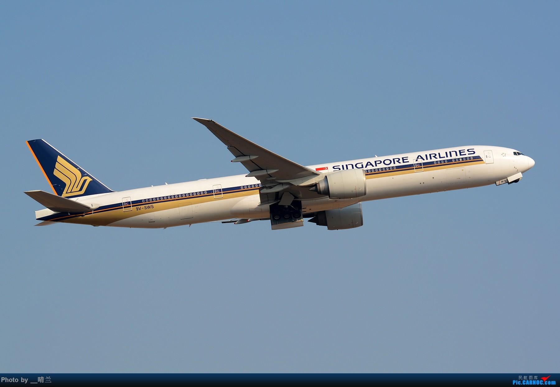 Re:[原创]【PVG】大年初二 新角度解锁 集齐7只77W 召唤748一枚!#祝各位飞友新的一年一飞冲天!# BOEING 777-300ER 9V-SWS 中国上海浦东国际机场