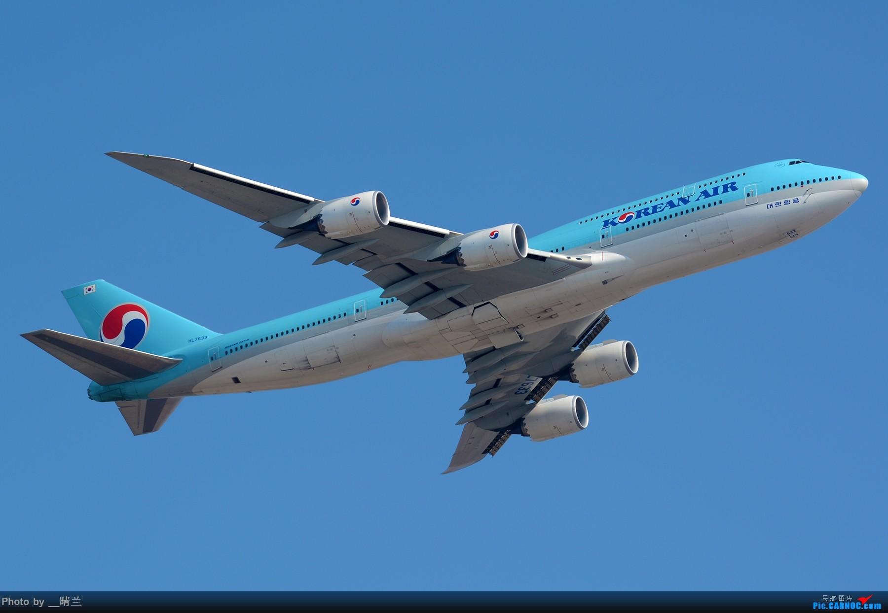 Re:[原创]【PVG】大年初二 新角度解锁 集齐7只77W 召唤748一枚!#祝各位飞友新的一年一飞冲天!# BOEING 747-8I HL7633 中国上海浦东国际机场