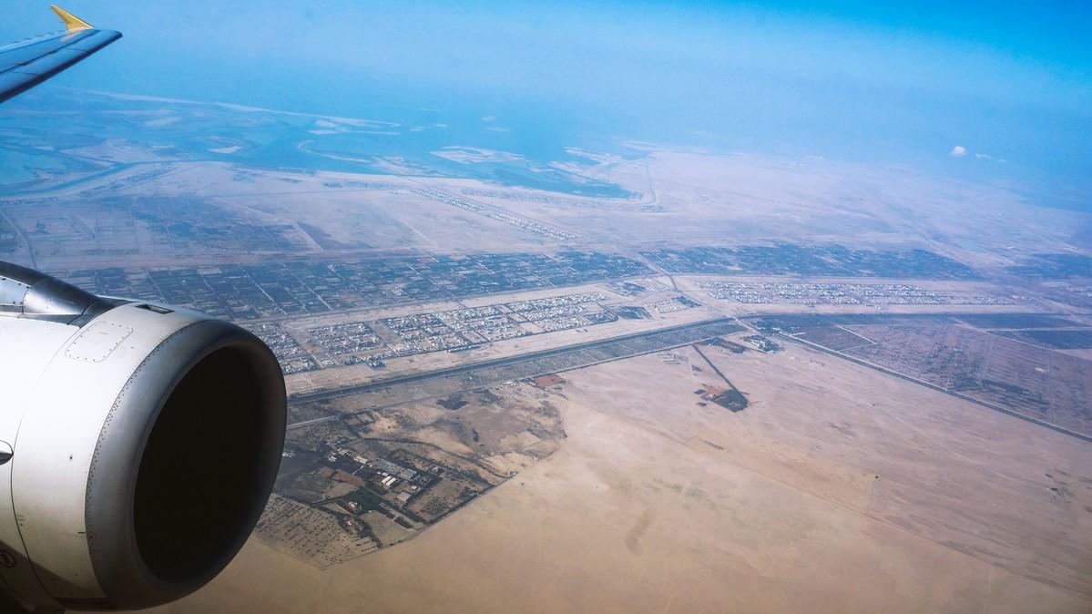 Re: [原创]【 环球十万公里 | 除了横跨太平洋 | 后会有期 | 下集 】 AIRBUS A320-200 A6-EIP 空中