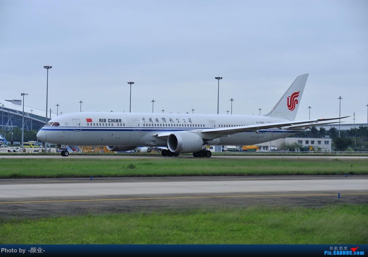 Re:[原创]记录曾经拍过的787 BOEING 787-9 B-7800 中国广州白云国际机场