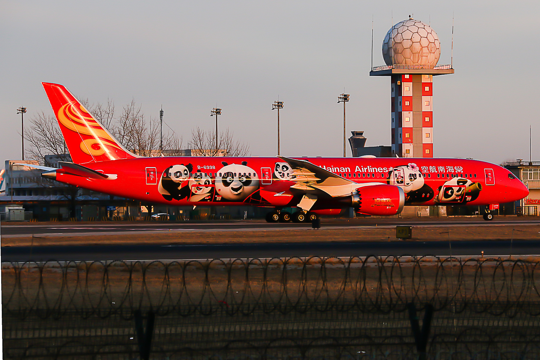 Re:[原创]多图 海航 熊猫1 熊猫2 BOEING 787-9 B-6998 中国北京首都国际机场