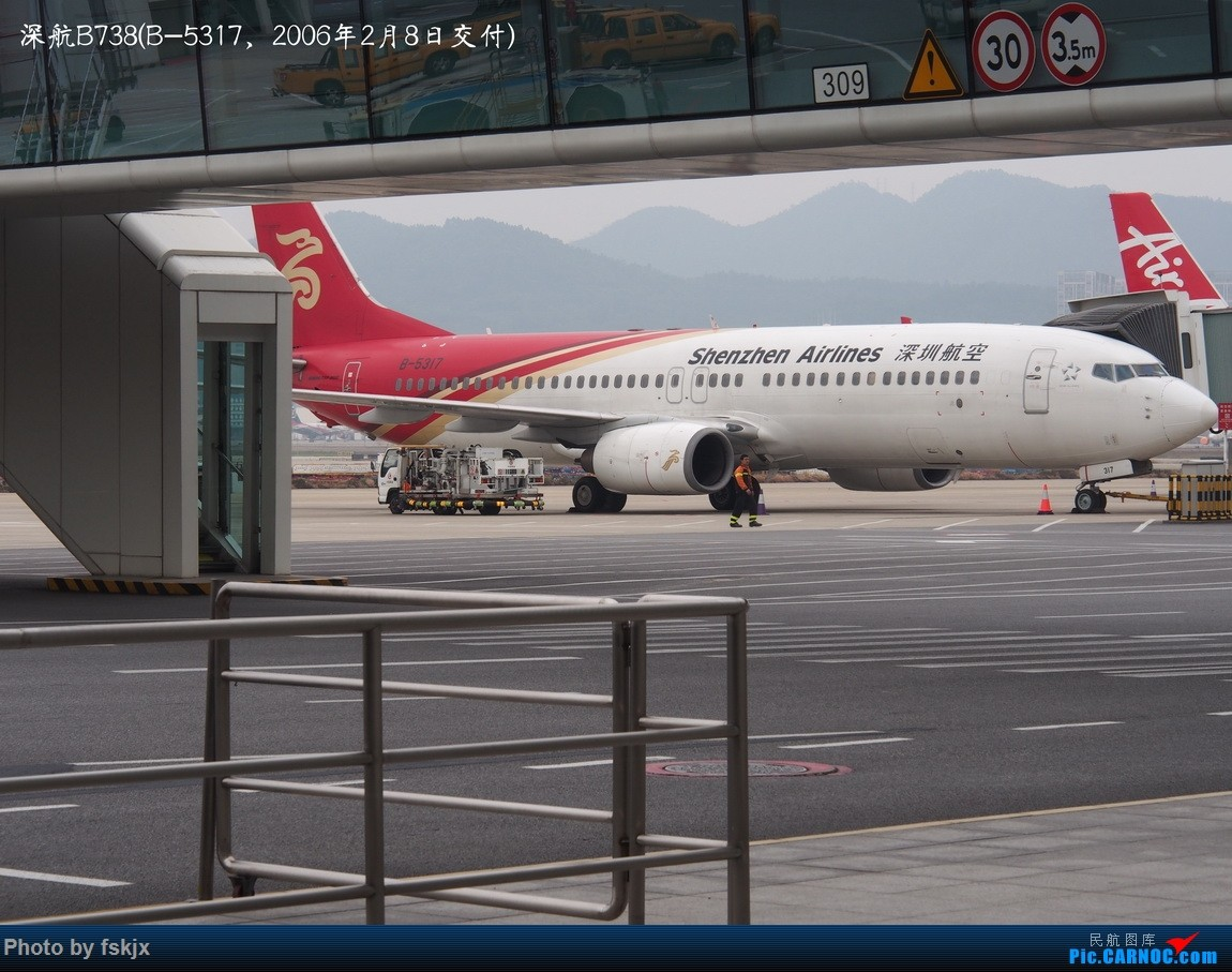 【fskjx的飞行游记☆42】物事已非·奥克兰 BOEING 737-800 B-5317 中国深圳宝安国际机场