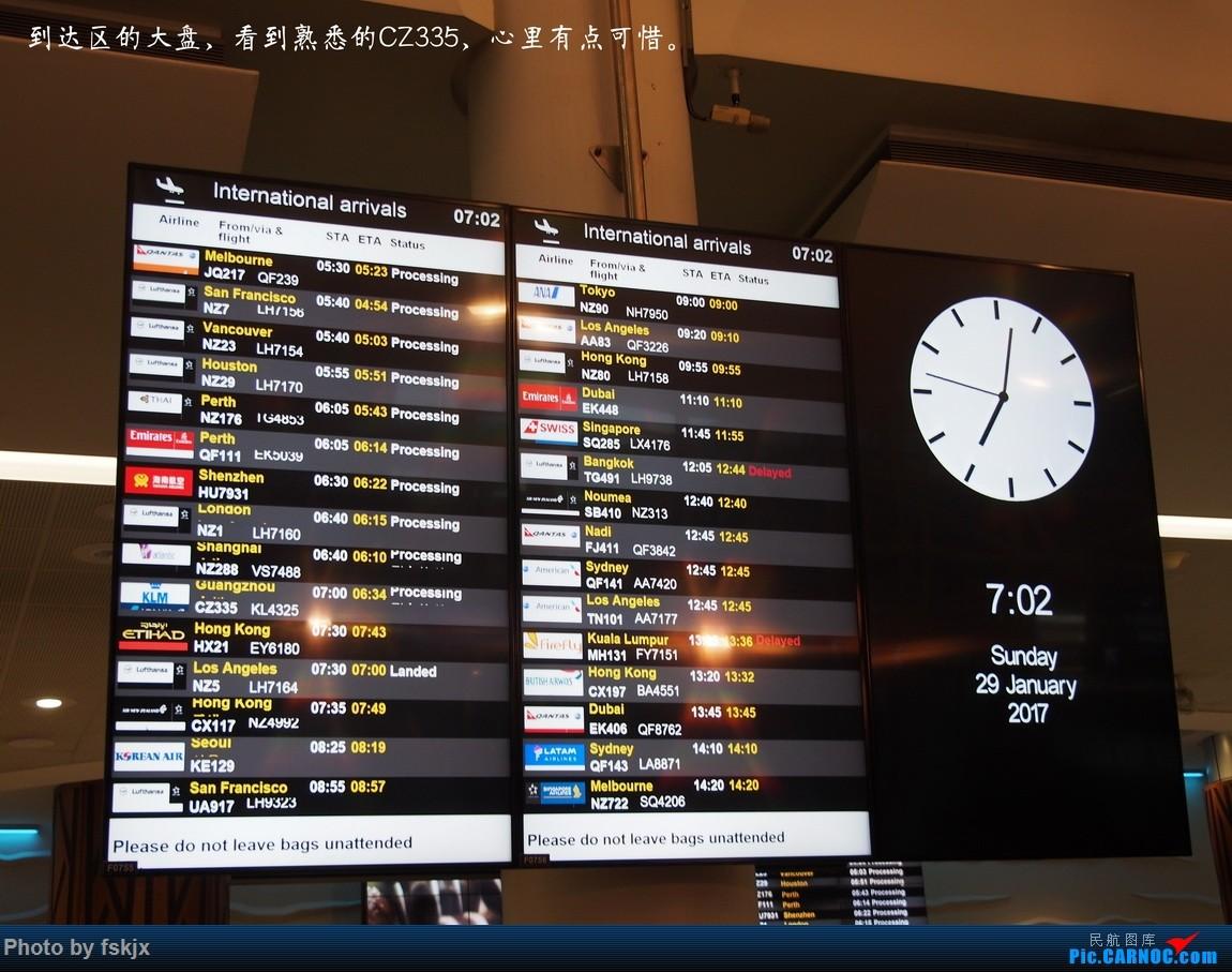 【fskjx的飞行游记☆42】物事已非·奥克兰 AIRBUS A330-200 B-5963 新西兰奥克兰机场 新西兰奥克兰机场