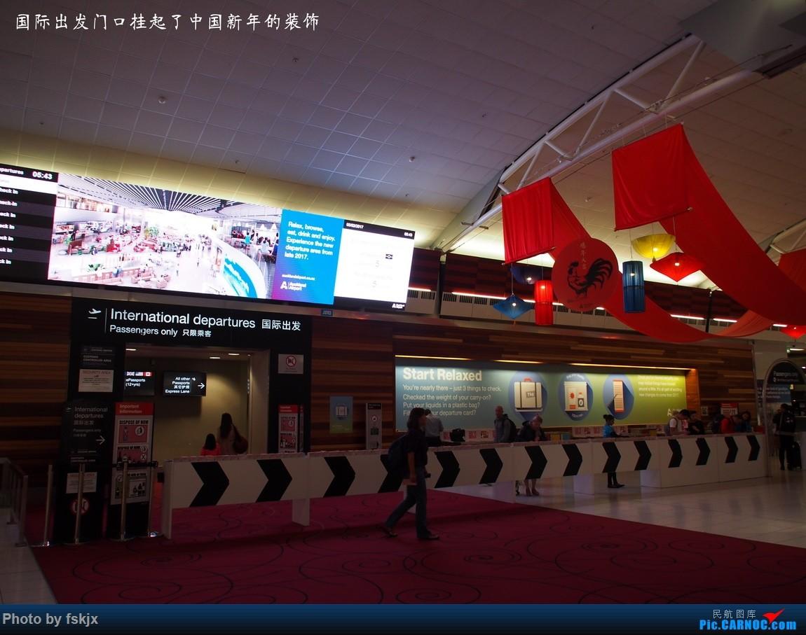 【fskjx的飞行游记☆42】物事已非·奥克兰    新西兰奥克兰机场