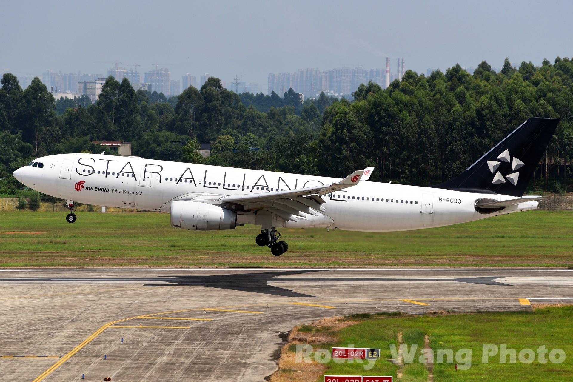 Re:[原创]白与黑 AIRBUS A330-200 B-6093 中国成都双流国际机场