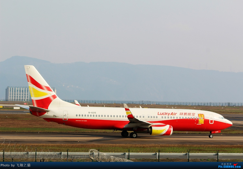 Re:[原创]2017CKG春运最后一拍(南航天合332) BOEING 737-800 B-6015 重庆江北国际机场