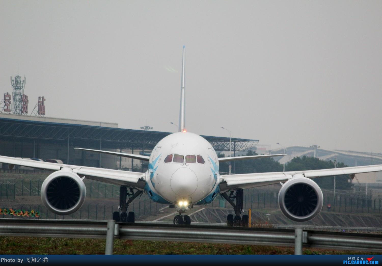 Re:[原创]2017CKG春运最后一拍(南航天合332) BOEING 787-8  重庆江北国际机场