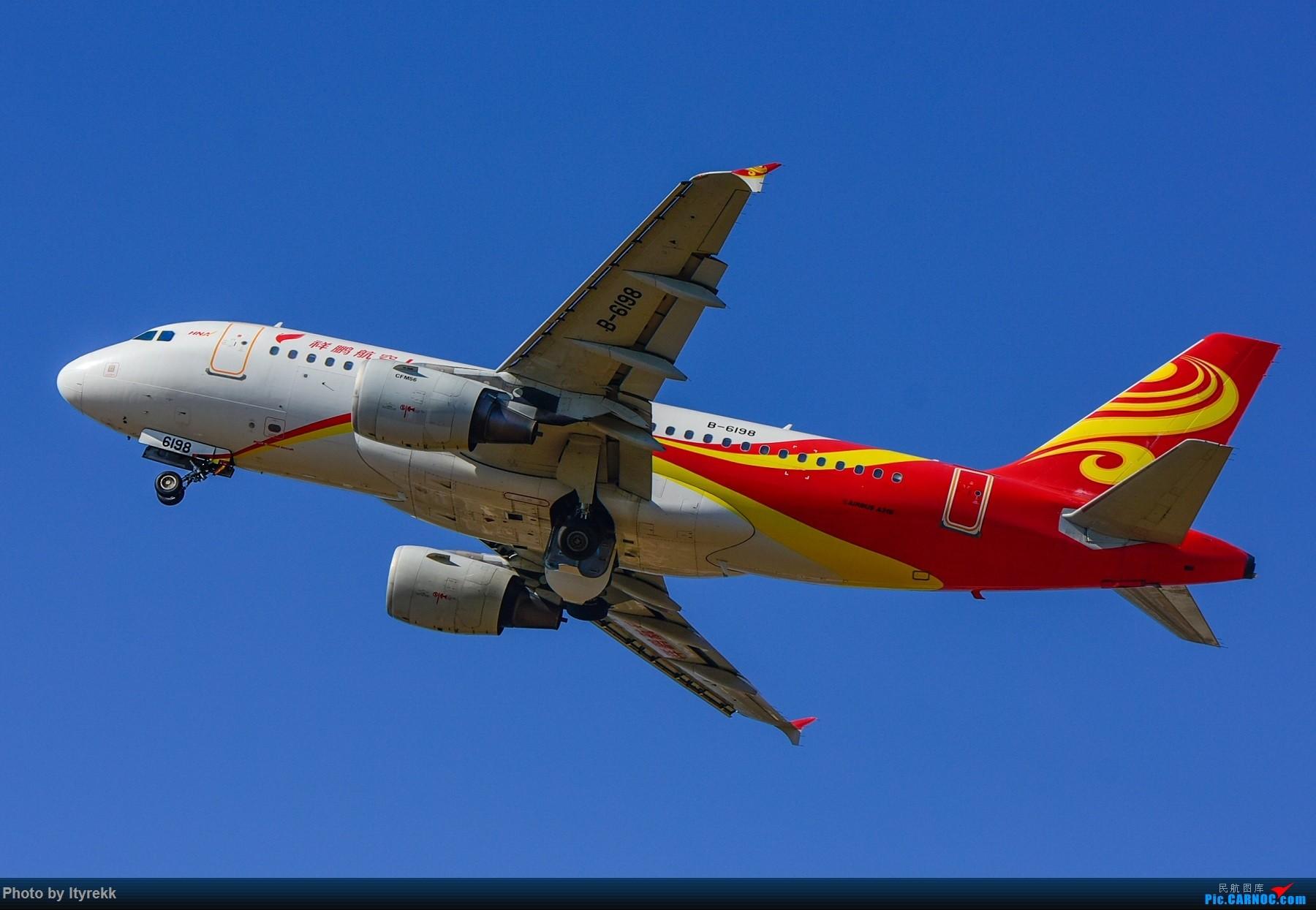 [原创]假期都快完了,不发点图实在惭愧 AIRBUS A319-100 B-6198 中国芒市机场