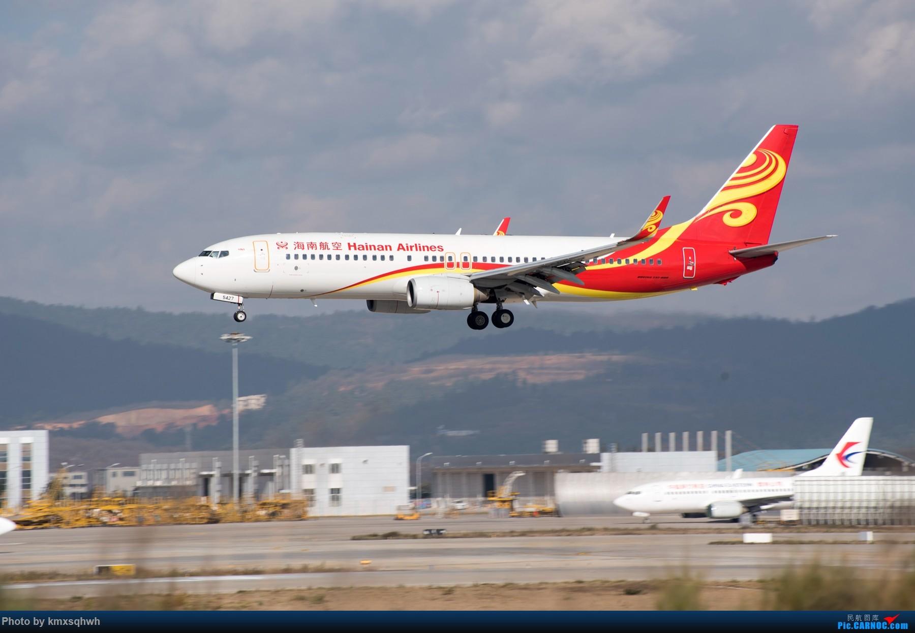 Re:[原创]新人首次发图,请各位飞友指点 BOEING 737-800 B-5427